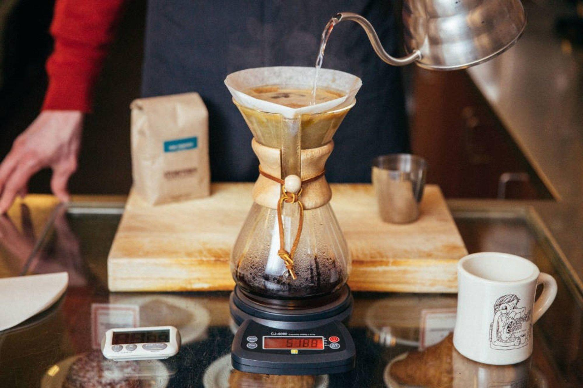 Кемекс для приготовления фильтр-кофе