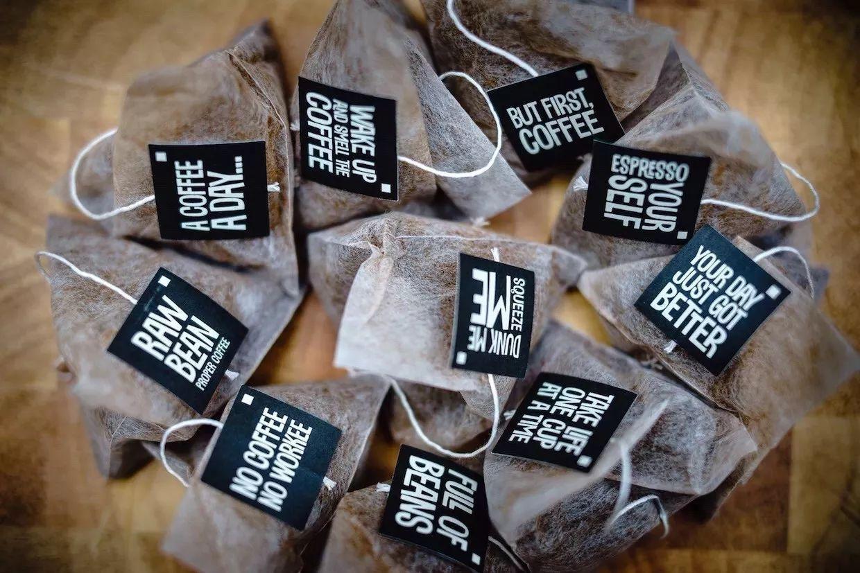 Фильтр-пакеты с кофе для заваривания в чашке
