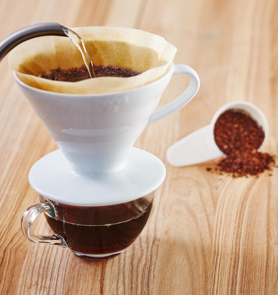 Воронка Hario V60 для приготовления фильтр-кофе