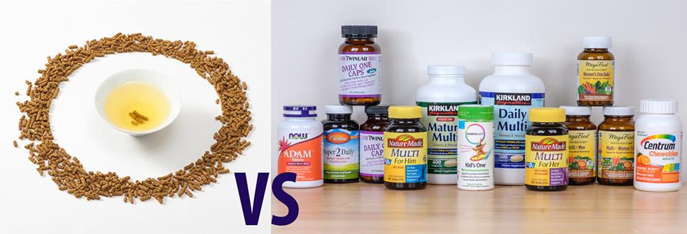 Витамины, минералы и микроэлементы в гречишном чае куцяо