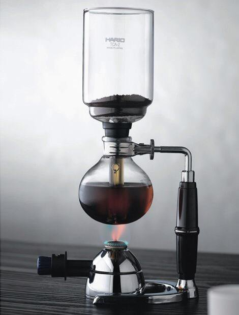 Вакуумный чайник или сифон для заваривания кофе